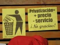 LA PRIVATIZACIÓN DEL SERVICIO PÚBLICO