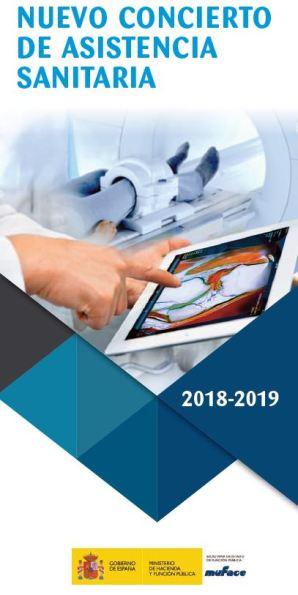 MUFACE: Concierto suscrito con entidades de seguro para el aseguramiento del acceso a la asistencia sanitaria durante los años 2018 y 2019