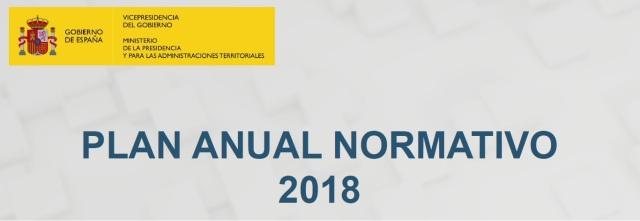 Plan Anual Normativo 2018