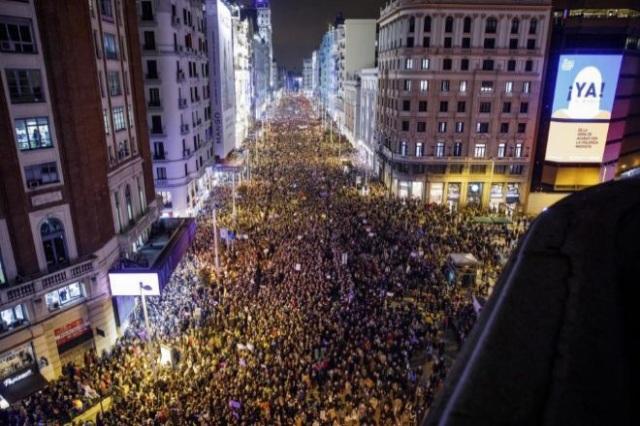 8M: Jornada histórica del feminismo español