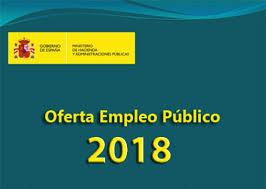 Oferta de empleo público para el año 2018